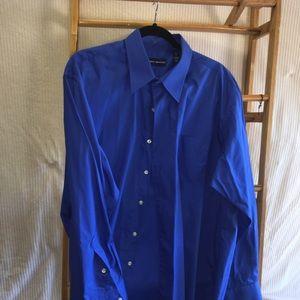 Men's XL long sleeve shirt 17.5 x 34-35